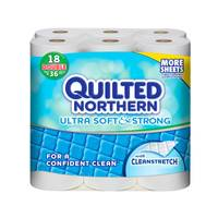 Quilted Northern Soft & Strong Toilet Paper Rolls from Blain's Farm and Fleet