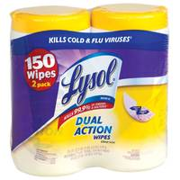 Lysol Dual Action Wipes from Blain's Farm and Fleet