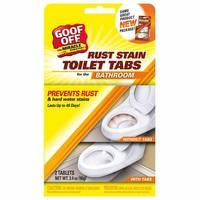 Goof Off Rust Stain Toilet Tabs for Bathroom from Blain's Farm and Fleet