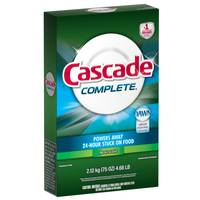 Cascade Complete Dishwasher Detergent from Blain's Farm and Fleet