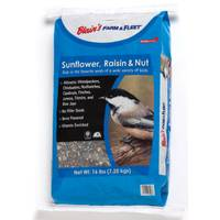 Blain's Farm & Fleet 16 lb Sunflower, Raisin & Nut Bird Seed from Blain's Farm and Fleet