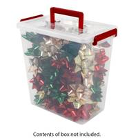 Iris USA Ribbons & Bows Storage Box from Blain's Farm and Fleet