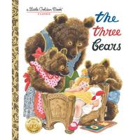 Little Golden Books The Three Bears Children's Book from Blain's Farm and Fleet