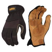 DEWALT Men's Performance Driver Hybrid Gloves from Blain's Farm and Fleet