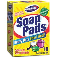 Powerhouse Steel Wool Soap Pads from Blain's Farm and Fleet