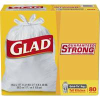 Glad Tall Kitchen Quick Tie Garbage Bags from Blain's Farm and Fleet