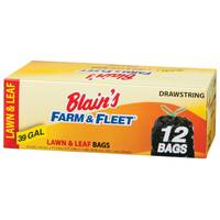 Blain's Farm & Fleet 39 Gallon Drawstring Lawn and Leaf Bags from Blain's Farm and Fleet