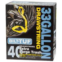 Bilt-Tuf Large 33 Gallon Drawstring Garbage Bags from Blain's Farm and Fleet