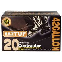 Bilt-Tuf 42 Gallon Contractor Bags from Blain's Farm and Fleet