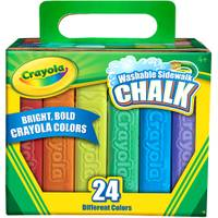 Crayola Washable Sidewalk Chalk from Blain's Farm and Fleet