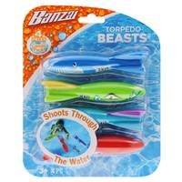 Banzai Torpedo Beasts Pool Dive Toy from Blain's Farm and Fleet