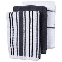 Kay Dee Designs Charcoal 3-Piece Towel Set from Blain's Farm and Fleet