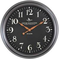 Firstime Manufactory Belmont Black Clock from Blain's Farm and Fleet