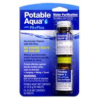 Potable Aqua Water Purification Tablets from Blain's Farm and Fleet