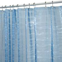 InterDesign Blue Ripplz EVA Shower Curtain from Blain's Farm and Fleet