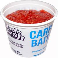 Uncle Josh Carp Bait - Orange / Vanilla from Blain's Farm and Fleet