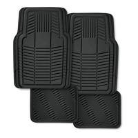 Kraco 4 Piece Multi-Season Rubber Floor Mat Set from Blain's Farm and Fleet