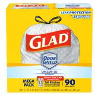 Glad Tall Kitchen Drawstring Garbage Bags from Blain's Farm and Fleet