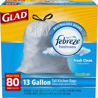 Glad OdorShield Tall Kitchen Drawstring Garbage Bags from Blain's Farm and Fleet