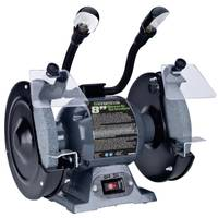 Genesis 3/4 HP Bench Grinder with Lights from Blain's Farm and Fleet