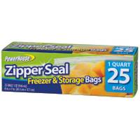 Powerhouse ZipperSeal Freezer & Storage Bags from Blain's Farm and Fleet