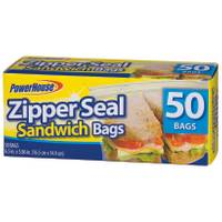 Powerhouse ZipperSeal Sandwich Bags from Blain's Farm and Fleet