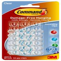 Command Clear Decorating Clips from Blain's Farm and Fleet