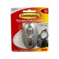 Command Traditional Metallic Hook from Blain's Farm and Fleet