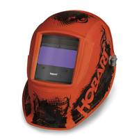 Hobart Agent Orange Impact Series Auto Darkening Welding Helmet from Blain's Farm and Fleet