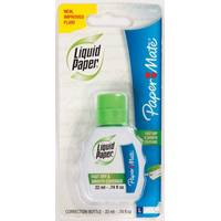 Paper Mate Liquid Paper Correction Fluid Bottle from Blain's Farm and Fleet