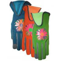 MidWest Gloves Women's Suede Palm Spandex Back Gloves from Blain's Farm and Fleet
