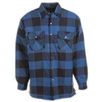 Work n' Sport Men's Stay Dry Quilt Lined Flannel Shirt from Blain's Farm and Fleet
