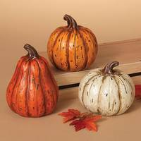 Gerson International Pumpkin Figure Assortment from Blain's Farm and Fleet