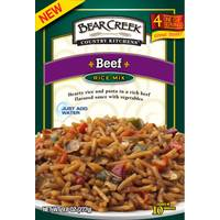 Bear Creek Country Kitchens Beef Rice Mix from Blain's Farm and Fleet