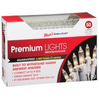 Blain's Farm & Fleet Premium 50 - Light Indoor & Outdoor Mini Christmas Lights from Blain's Farm and Fleet