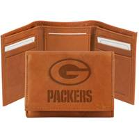 Rico Industries Green Bay Packers Embossed Leather Wallet from Blain's Farm and Fleet
