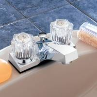 Aqualife 2 Handle Chrome Lavatory Faucet from Blain's Farm and Fleet