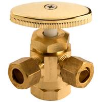 Plumb Craft by Waxman Low Lead 3-Way Valve from Blain's Farm and Fleet