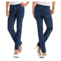 Lee Misses Black Classic Fit Monroe Straight Leg Jeans from Blain's Farm and Fleet