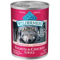 Blue Buffalo Wilderness Grain Free Salmon & Chicken Grill Dog Food from Blain's Farm and Fleet