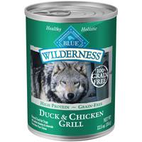 Blue Buffalo Wilderness 12.5 oz Grain Free Duck & Chicken Grill Dog Food from Blain's Farm and Fleet