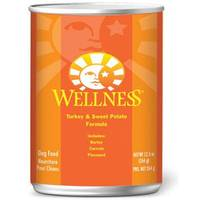 Wellness Canned Turkey & Sweet Potato Dog Food from Blain's Farm and Fleet
