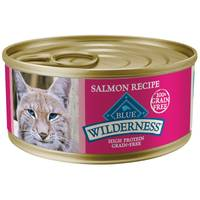 Blue Buffalo Wilderness High Protein Grain Free Salmon Adult Cat Food from Blain's Farm and Fleet