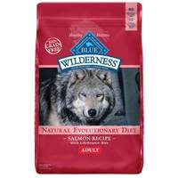 Blue Buffalo Wilderness 11 lb Grain Free Salmon Natural Evolutionary Diet Adult Dog Food from Blain's Farm and Fleet