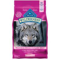 Blue Buffalo Wilderness Grain Free Chicken Small Breed Adult Dog Food from Blain's Farm and Fleet