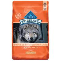 Blue Buffalo Wilderness 24 lb Grain Free Chicken Large Breed Adult Dog Food from Blain's Farm and Fleet