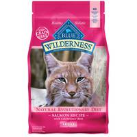 Blue Buffalo Wilderness 5 lb Grain Free Salmon Natural Evolutionary Diet Cat Food from Blain's Farm and Fleet
