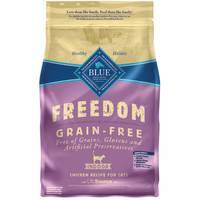 Blue Buffalo Life Protection Freedom Grain Free Natural Chicken Recipe Indoor Cat Food from Blain's Farm and Fleet