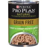 Purina Pro Plan Grain Free Turkey & Sweet Potato Entree Adult Wet Dog Food from Blain's Farm and Fleet