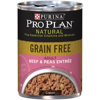 Purina Pro Plan Grain Free Beef & Peas Entree Adult Wet Dog Food from Blain's Farm and Fleet
